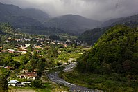 A cooler climate is common in the Panamanian highlands.