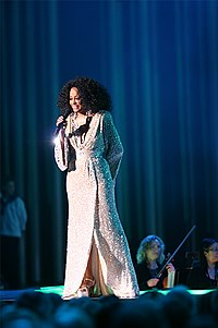 Diana Ross (pictured), lead singer of The Supremes, whom Beyoncé was compared to.