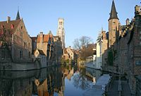 Bruges, historical city center, UNESCO World Heritage Site