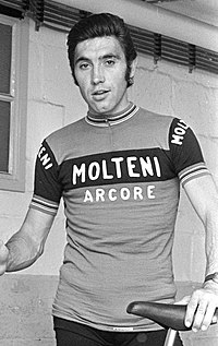 Eddy Merckx, regarded as one of the greatest cyclists of all time