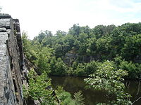 Quincy Quarries Reservation in West Quincy.