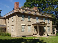 The Josiah Quincy House in Wollaston Park.