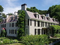 """""""Peacefield"""", residence of four generations of the Adams family."""