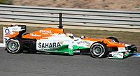 Force India is a former Mercedes engine user.