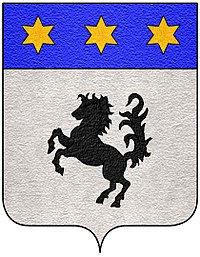 Coat of arms of the Baracca family