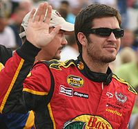 Martin Truex Jr. won the race, the second of his career.