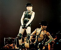 A theatrical concert by Madonna in 1990