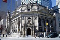 The Hockey Hall of Fame in Downtown Toronto