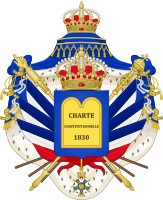 Coat of arms of Louis Philippe I