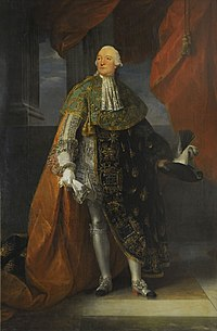 Portrait of Louis Philippe, Duke of Chartres (known as Philippe Égalité) in ceremonial robes of the Order of the Holy Spirit by Antoine François Callet