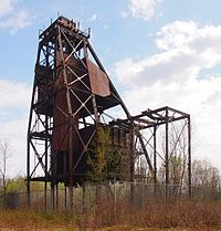 Bruce Mine Headframe