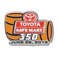 2015 Toyota/Save Mart 350