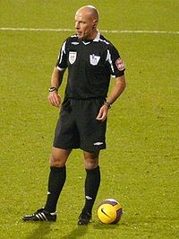 Match referee Howard Webb had been on the list of FIFA-accredited referees since 2005.