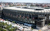 The Santiago Bernabéu Stadium was selected as the venue for the 2010 UEFA Champions League Final in March 2008.