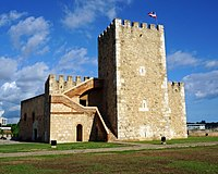 The Ozama Fortress in Santo Domingo, Dominican Republic is recognized by UNESCO for being the oldest military construction of European origin in the Americas.