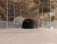 Cheyenne Mountain Complex is an underground bunker used by North American Aerospace Defense Command. Cheyenne Mountain is an example of a mid-20th century fortification built deep in a mountain.