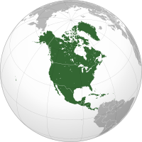 Outline of North America