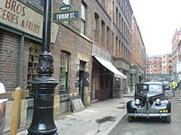 Photo taken in Manchester on the set of Captain America: The First Avenger