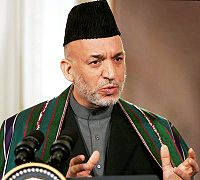Hamid Karzai was the leader of the country from 2001 to 2014