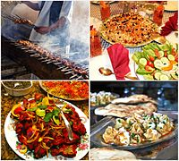 Some of the popular Afghan dishes