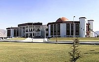 The National Assembly of Afghanistan in Kabul, the current site was built in 2015