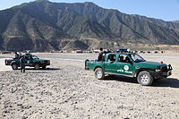 Afghan National Police (ANP) in Kunar Province