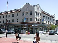 Mixed use building on Telegraph Avenue