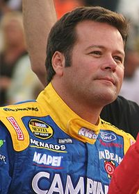 Robby Gordon led the most laps of the race (48)