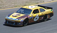 David Ragan in the No. 6 during the 2011 Toyota/Save Mart 350.