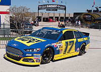 Ricky Stenhouse Jr. in the No. 17 at Texas Motor Speedway in 2013.