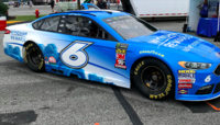 Kenseth's showcar at Dover International Speedway in 2018