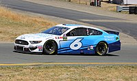 Ryan Newman in the No. 6 at Sonoma Raceway in 2019.