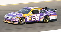 Jamie McMurray in the No. 26 during the 2008 Toyota/Save Mart 350.