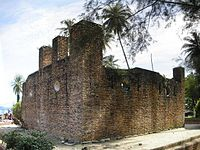 The 1670 Dutch Fort on Pangkor Island, built as a tin ore warehouse by the Dutch East India Company