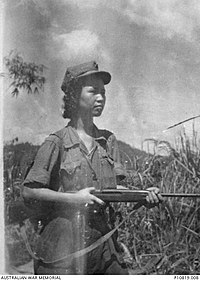 Notorious MLNA leader Lee Meng in Ipoh District during the Malayan Emergency, c.1951