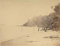 Pangkor Island within Dindings in the British Straits Settlements, c.1874