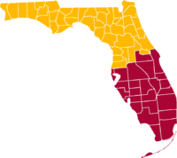 The partition of Florida as proposed by Resolution No. 203-14-14297 of the City of South Miami Mayor and City Commission