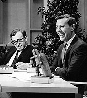 Allen on The Tonight Show Starring Johnny Carson in 1964