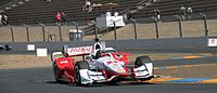 Pagenaud during practice at the 2015 GoPro Grand Prix of Sonoma