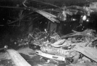 Aftermath of the bombing, photographed by DSS agents