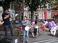 Father's Day in Deventer, Netherlands