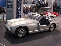 Mercedes-Benz 300SL Transaxle, the 1953 prototype used in the return to motorsports.
