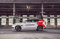 TomTom Self Driving Test Vehicle