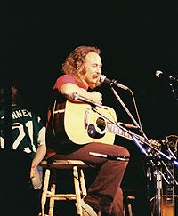 Crosby in August 1974 with CSN