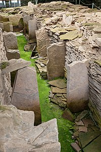 Midhowe Chambered Cairn