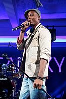 B.o.B performing in July 2010