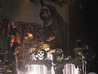 """The Misfits developed a """"horror punk"""" style in New Jersey."""