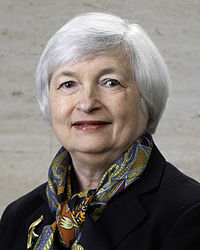 Janet Yellen, professor emeritus at the Haas School of Business, 15th Chair of the Federal Reserve