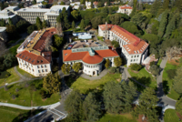 The College of Natural Resources: Wellman Hall, flanked by Giannini and Hilgard Halls