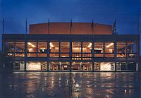 Zellerbach Hall, home of the Cal Performances theater group
